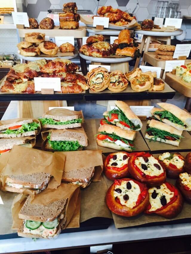 Amazing food display - Gail's