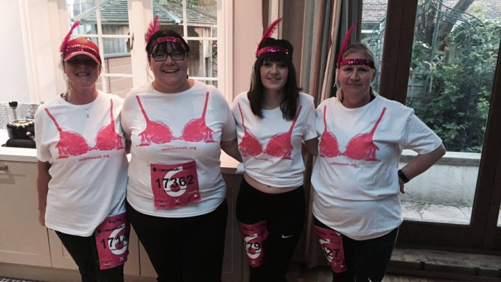 Walk the Walk – uniting against breast cancer