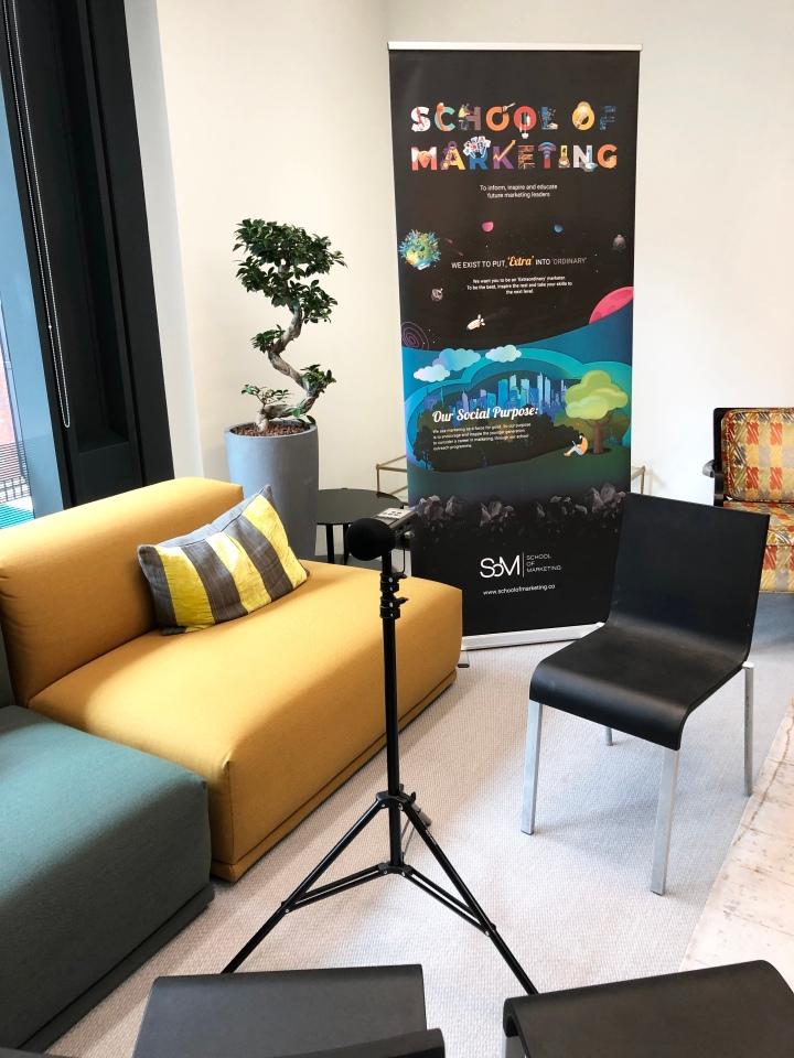 School of Marketing launch event at Saatchi &Saatchi