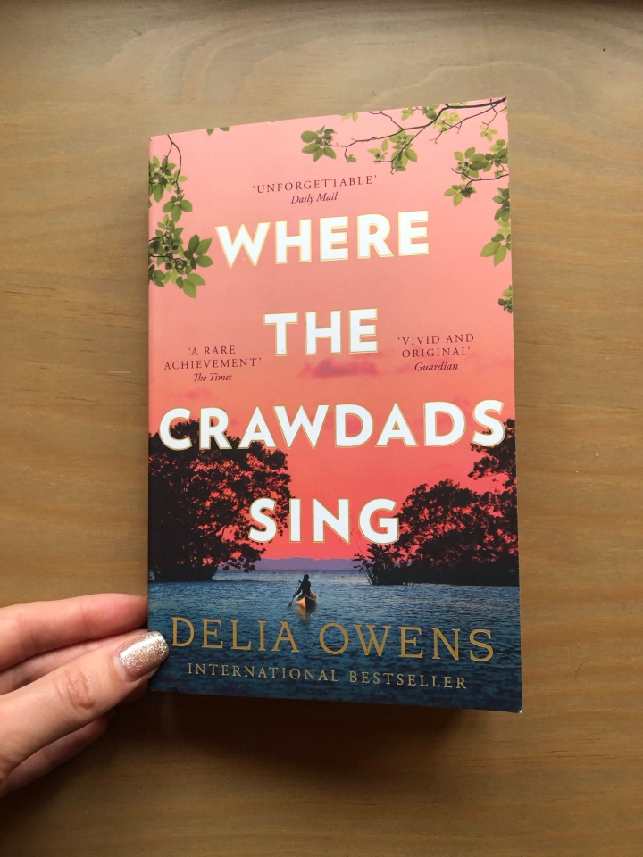 January Book Pick: Where the Crawdads Sing by DeliaOwens
