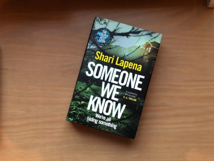 February Book Club: Someone We Know by ShariLapena